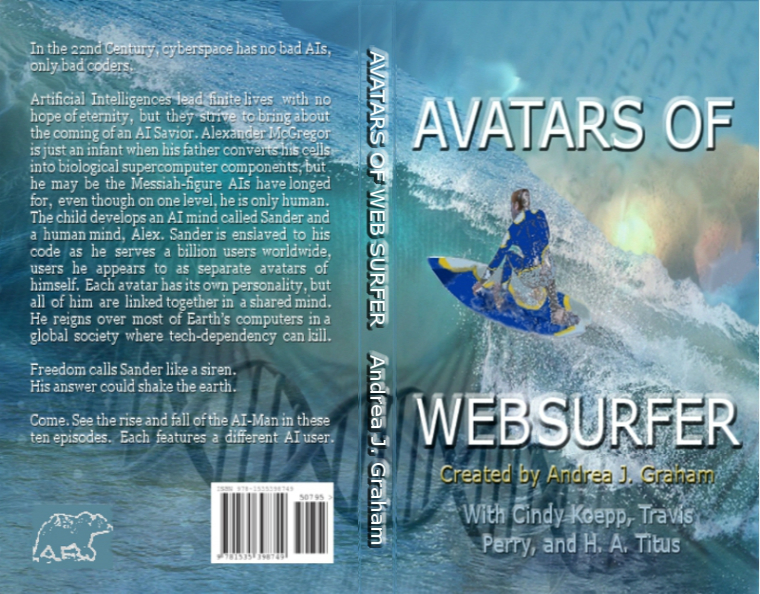 Avatars of Web Surfer Cover ISBN and Logo CORRECTED